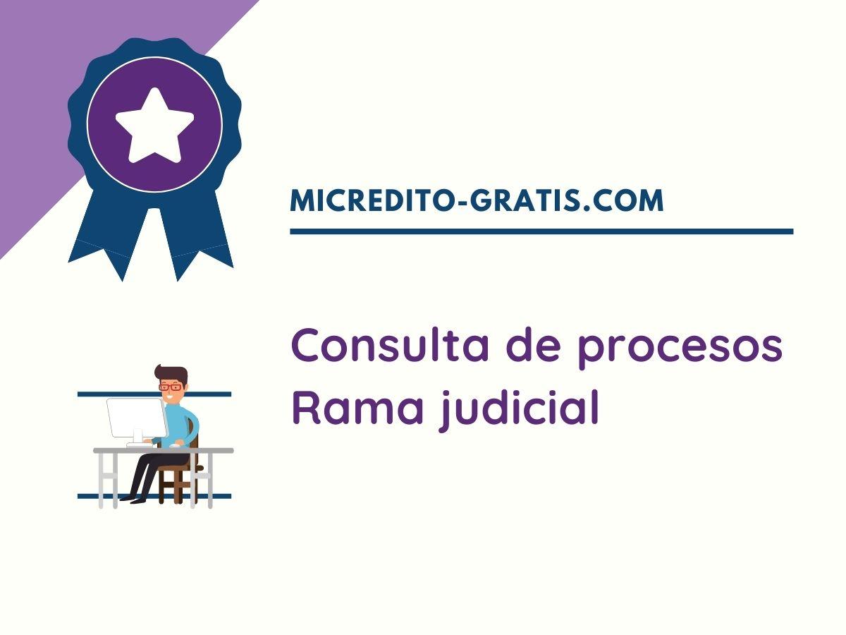consultar procesos judiciales en la rama judicial