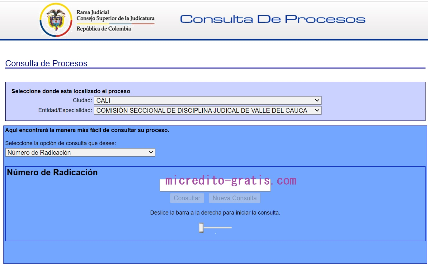 consulta de procesos judiciales www.ramajudicial.com